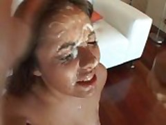 Facial And Swallow Compilation