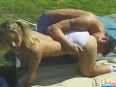 Babysitter Gets Pussy Licked And Gives Blowjob
