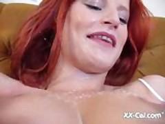 Redhead Milky Big Tits