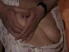 Mrs B tit pain session