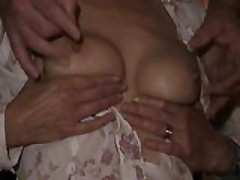 Mrs B tit pain session