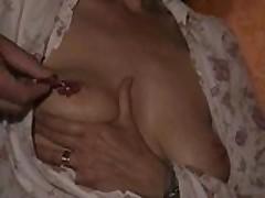 Mrs B boob pain session