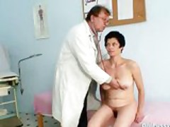 Barbora Visits Gyno Doctor To Get Of age Pussy Checked