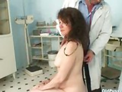 Mature Karla Needs Her Extremely Hairy Old Pussy Gyno Examined