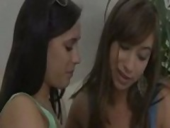 Beautiful Lesbians Make Passionate Love