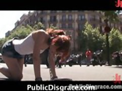 Humiliation And Fucking In Public
