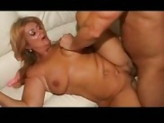 German Mature Loves Hard Coitus With Stranger