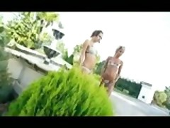 Lesbian Outdoor Play