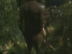 Africans Guys Fucking A White Bitch