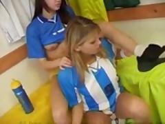 Beautiful Lesbian Soccer