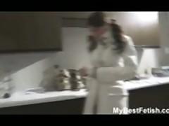 Tiffany Preston Gives A Soapy Massage