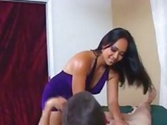 Asian Babe Gives A Full Massage