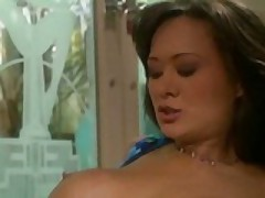 Asia Carrera Wets Her Pussy-Thirsty Craving