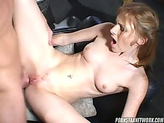 Allison Wyte is Nice redhead natural