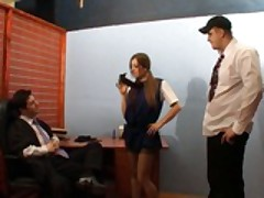 Cate Fucks In The Lawyer's Office
