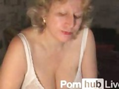 Asmin From Pornhublive Shows Off Mature Body