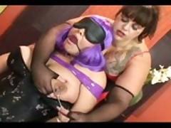 Lesbian BBW Sub Training