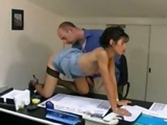 2 Brothers Nail A Exotic Euro-Slut