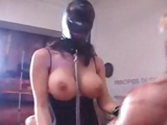2 Slaves For One Cock