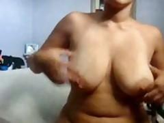 Chubby Girlfriend Masturbates