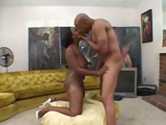 Skyy Black Lets Her Booty Bounce On A Black Dick