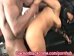 Black On Black Rough Sex