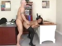 Roxy Reynolds At Her New Job