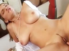 Busty Italian Rossella Conti Anal
