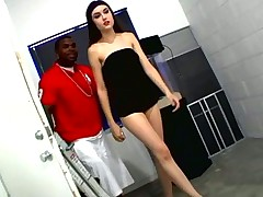 Sasha Grey hot interracial threesome