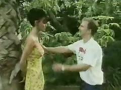 Anita Blonde Blows A Friendly Snake