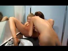 Jenna Haze In The Public Washroom