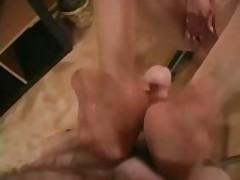 Nikita Denise Does A Foot Job