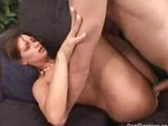 Amateur Fuck On The Couch
