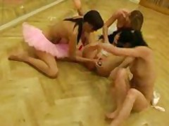 Ballerina's Take A Break From Dancing