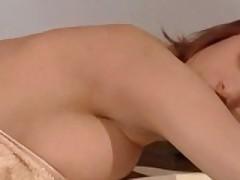 Bitch Gets Horny Through A Massage