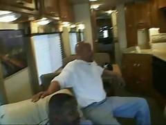 Gangbang on the bus