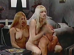 Careful shemale group sexual connection