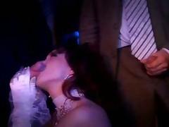 Bride slut gangbang