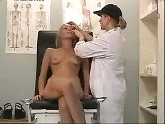 Gyno doctor exam