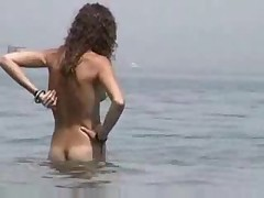 Beautiful on Nudist Beach