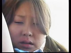 Japanese lesbian fun on the bus