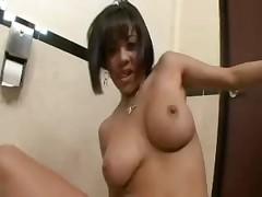 Bathroom POV Sex Vanessa Leon