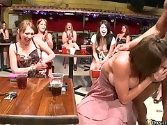 Club Gets Crazy With Strip Shows & Blowjobs