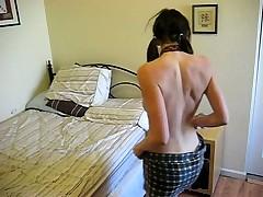 Filming My Hot Ass Girlfriend Stripping