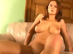 Busty Kid Fuck At bottom Couch