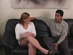 Cute amateur spanking