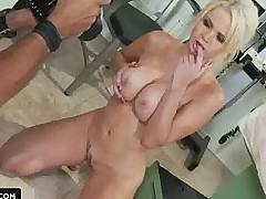Alexis Ford 1st time ever on Brazzers set