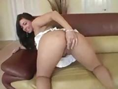 Latin Whore Follows Her Nose To Some Cock