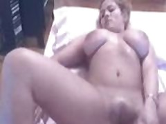Busty Beats Her Meat