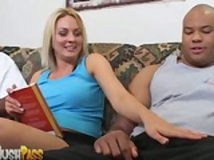 Sindy Lange Gets Stuffed With Two Big Black Cocks